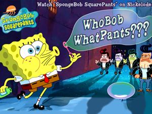 Who Bob What Pants???