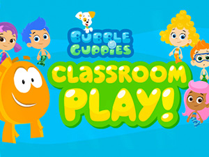 Bubble Guppies Classroom Play!