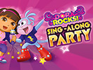 Dora Rocks Sing-Along Game