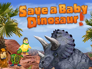 Save the baby Dinosaur