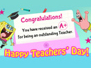 Teachers are the best!