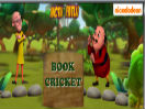 Motu Patlu games: Book Cricket
