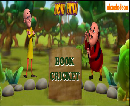 Play Motu Patlu: Book Cricket on nickindia.com. Enjoy all the fun of Cricket with Motu and Patlu online with Motu Patlu Book Cricket. Play now and get flipping.