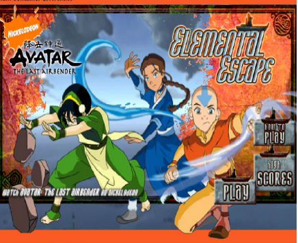 Avatar The Last Airbender: Elemental Escape
