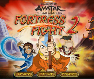Avatar The Last Airbender: Fortress Fight 2 Game