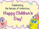Happy Children's Day - From Sponge Bob!