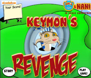 Keymon: Invasion Of The Galactic Goobers