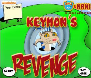 Keymon: Invasion Of The Galactic Goobers