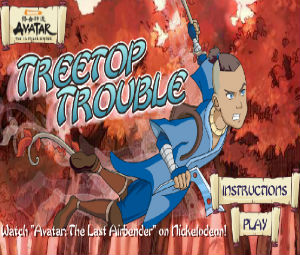 Avatar The Last Airbender: Treetop Trouble