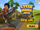 Play Cycle Mania with Shiva on nickindia.com. Drive around the obstacles and perform daring stunts with Shiva to earn points. Play Cycle Mania with Shiva now for hours of fun.