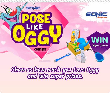 Pose Like Oggy