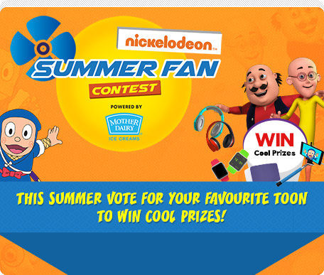 Nickelodeon Summer Fan Contest