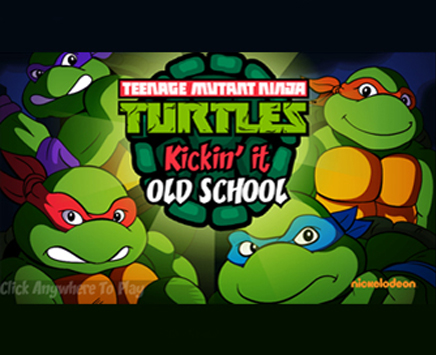 Booyakasha! Play Now to kick it old school styles with the TMNT!