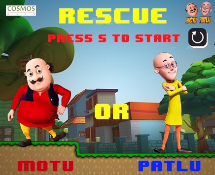 Play Motu Patlu to the rescue on nickindia.com. Help Motu and Patlu rescue through the stages