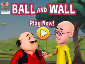 Motu Patlu Ball & Wall