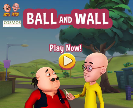 Use your mouse to move the slider. Help Motu and Patlu break all the tiles to win.