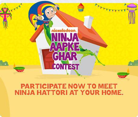 Ninja Aapke Ghar Contest