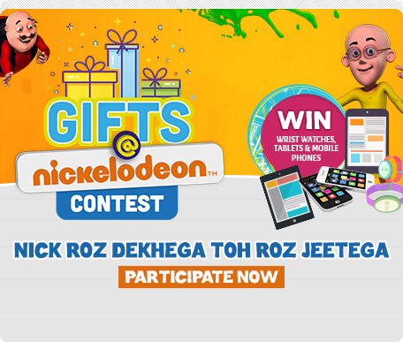 Gifts @Nickelodeon Contest