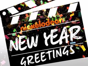 Nickelodeon New Year Greetings