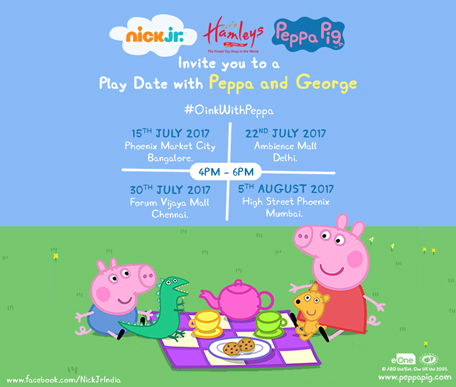 Play date with Peppa and George