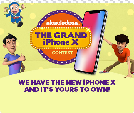 Nickelodeon The Grand iPhone X Contest