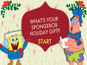 SpongeBob Holiday Gift