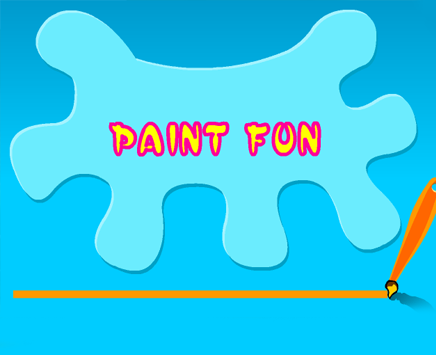 Play Paint Fun on nickindia.com. It's time to play with colours!