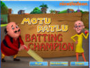 Play Batting Champion on nickindia.com. Help Motu become the best batsman by scoring the most runs.