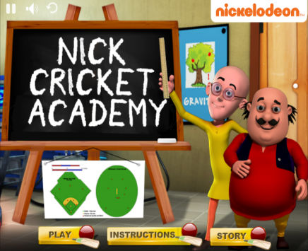 Play Nick Cricket Academy on nickindia.com. Test your Cricket Skills!