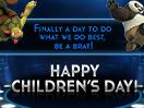 Happy Children's Day - From Teenage Mutant Ninja Turtles!
