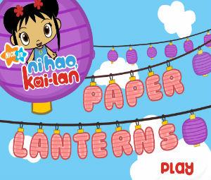 Nihao Kai Lan- Paper Lantern