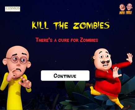 Play Kill the Zombies on nickindia.com. Help Patlu kill the Zombies, find the key and escape without getting bitten.
