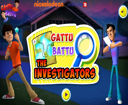 Play Gattu Battu The Investigators  | Kids Game Online | on nickindia.com. There has been a robbery in Vishrampur. Help Gattu and Battu find the stolen items before you run out of time.