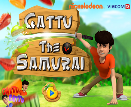 Play Gattu The Samurai on nickindia.com. Ting-tong has banged his head on the wall and has lost his memory temporarily. He gets into the Ninja fighting mode and starts throwing all the fruits and vegetables from the kitchen on Gattu. Gattu being the martial arts expert starts slicing them with his hand in the Ninja way!