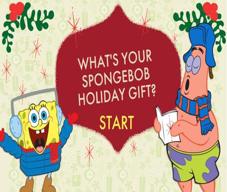 SpongeBob Holiday Gift