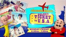Nickelodeon Golden Ticket To U.S.A.